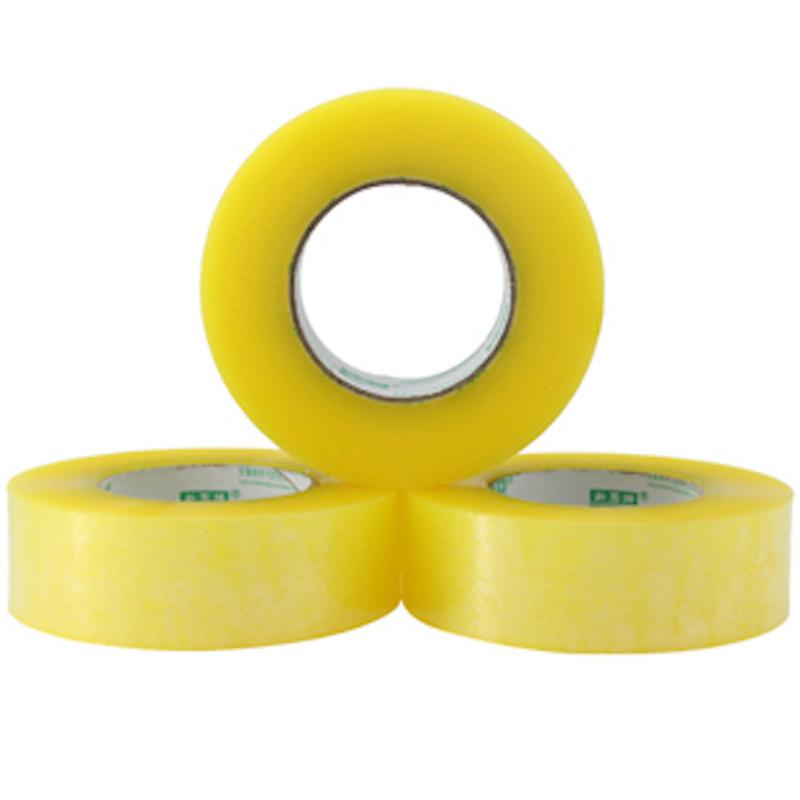 透明黄胶带