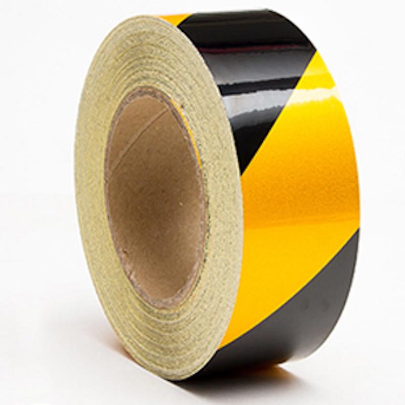 黑黄反光警示胶带