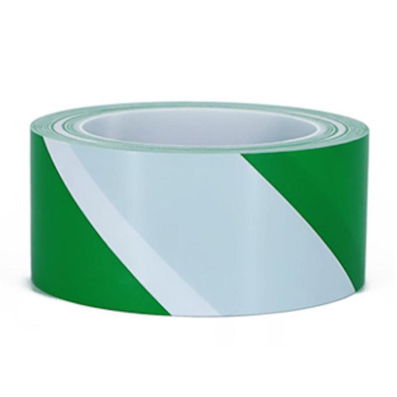 白绿警示胶带